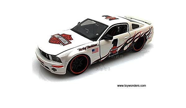 DIECAST MAISTO 1:24 W//B Harley-Davidson 2006 Ford Mustang GT 32169OR by MAISTO