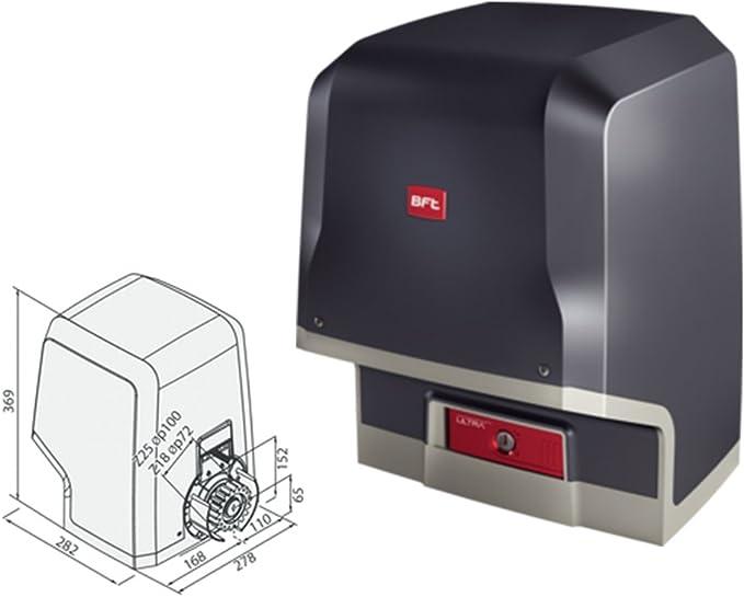 BFT Icaro Ultra AC A2000 230 V Motor para puerta corredera carga máxima 2000 kg: Amazon.es: Bricolaje y herramientas