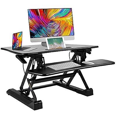 """Bonnlo 36"""" Standing Desk Large Desk Riser"""