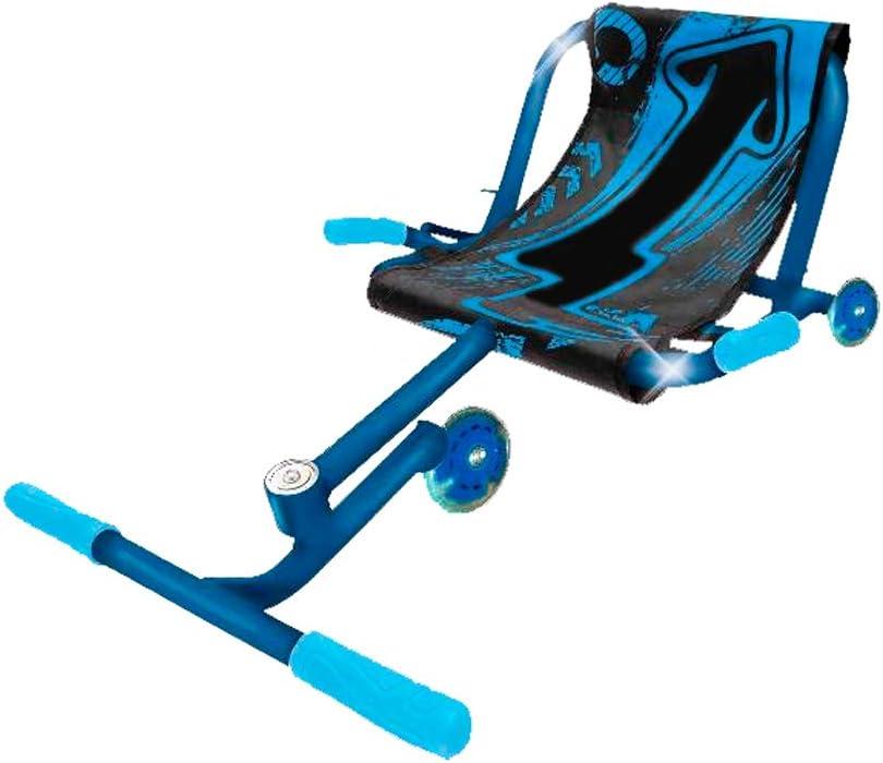 Roller Dance Azul BIWOND (Kart Patín Infantil, Patinete con Silla, con 3 Ruedas, Triciclo Infantil, Cómodo, Juguete Patin niños, Patinaje Infantil, Entre 4 y +14 años, Azul