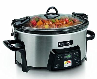 Crock-Pot SCCPCTS605-S Cook Travel Serve 6-Quart Programmable Slow Cooker from Crockpot
