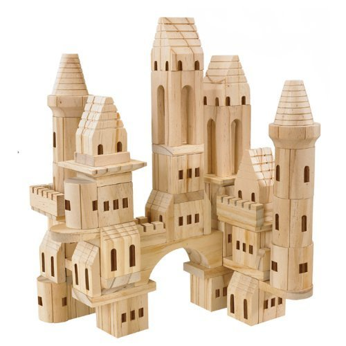 Treehaus Wood Castle Blocks - Building Castle Blocks Wooden