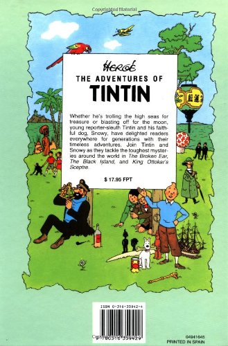 The Adventures of Tintin, Vol. 2: The Broken Ear / The Black Island / King Ottokar's Sceptre (3 Volumes in 1)