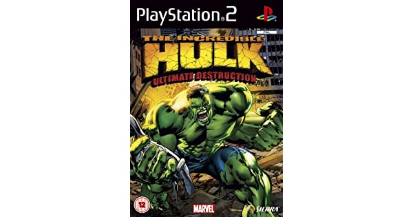 The Incredible Hulk : Ultimate Destruction (PS2 ...