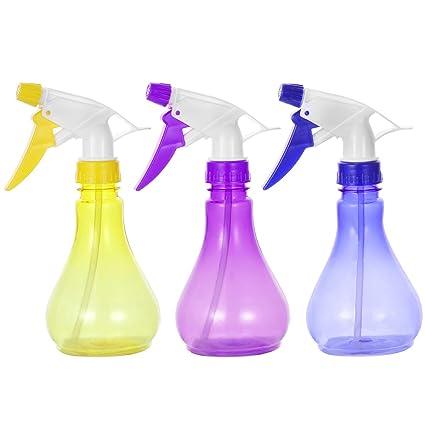 OUNONA 3pcs Pulverizador de plantas botellas de agua de Spray de la flor productos químicos y