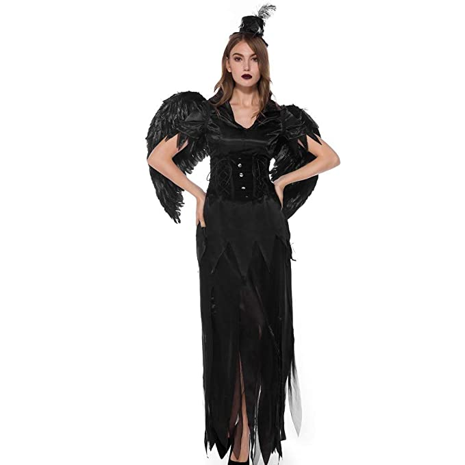 OPAKY Vestidos De Fiesta Mujeres Halloween Bruja Mágica ...