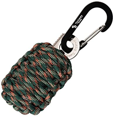 The Friendly Swede Carabiner Grenade Survival Kit with Eye Knife