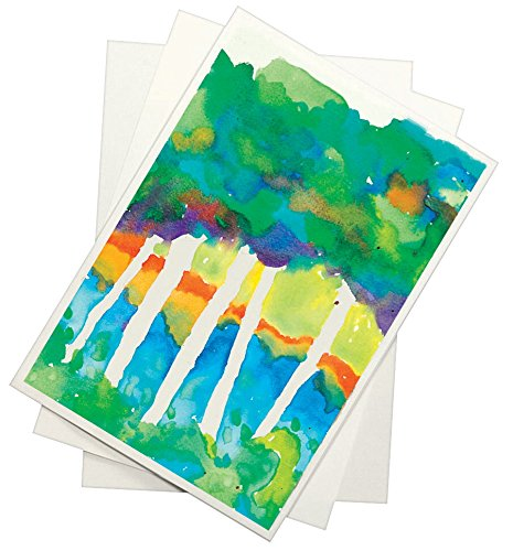 Sax Watercolor Beginner Paper, 90 lbs, 9 x 12 Inches, Natural White, Pack of 500 - 408401 by Sax