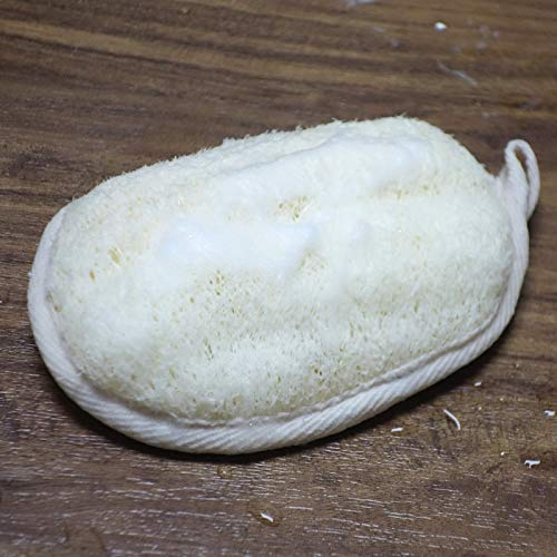 Loofah Exfoliator 50pcs Natural Loofah Sponge Rub Exfoliate Bath Glove by DAKUHO