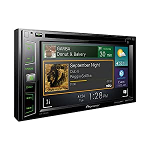 "Pioneer AVH-X2800BS In-Dash DVD Receiver with 6.2"" Display, Bluetooth, SiriusXM-Ready"