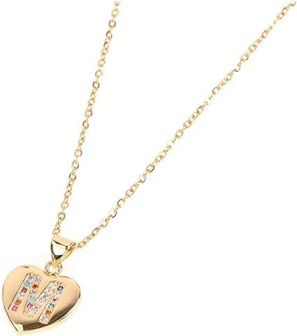 1SET 3 PCS Mode Clavicule Chaîne Collier Pendentif Coeur Pour Fantaisie Cadeau