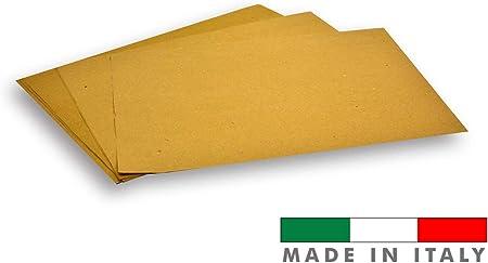 restaurant pizzeria 500/sets am/éricains pour couvert dessous de plat couleur havane Palucart sets de table en papier paille