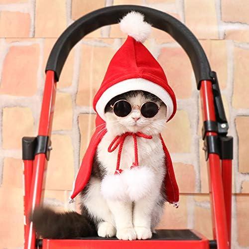 JINQD Artículos para Mascotas Ropa para Perros/Ropa para Gatos , Año Nuevo/Navidad/Cumpleaños Fiesta de Telas para Mascotas Red Popular Dog Cooler Capa/Sudadera con Capucha para Perro/Gato N: Amazon.es: Hogar