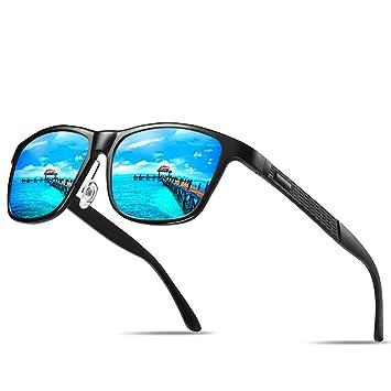 LCDY Gafas De Sol Polarizadas para Hombre. Ideal para Conducir, Ciclismo, Espejo De