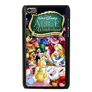 The best gift for Halloween and Christmas iPod 4 Case Black the new alice in wonderland disney WYW8595900