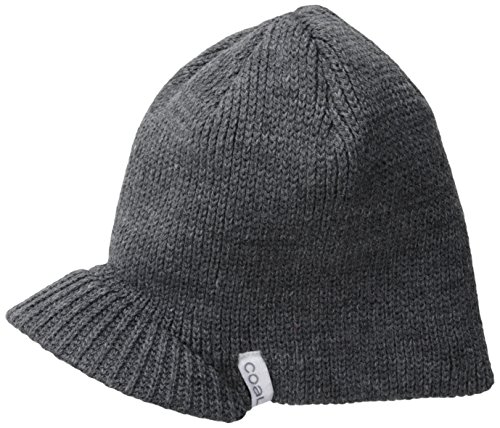 Coal Men's Basic Brim Beanie, Charcoal, One Size (Brim Basic Beanie)