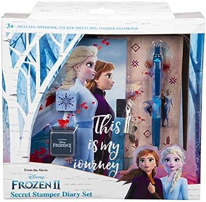 Disney Frozen 2 Diario Secreto Para Niña Elsa Anna El Reino del ...