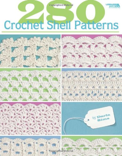 Crochet Shell Afghan - 280 Crochet Shell Patterns  (Leisure Arts #3903)