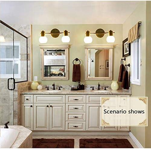 Led 2-Licht, LED-Spiegel-Licht, Retro- Europäisches Art-Spiegel-Licht, Bad Und WC Spiegelschrank Lampen, Wasserdicht Make-Up-Licht-Spiegel-Licht
