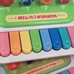Amazon ワンワンとう たんのいっしょにうたってピアノ ピアノ 鍵盤楽器 おもちゃ