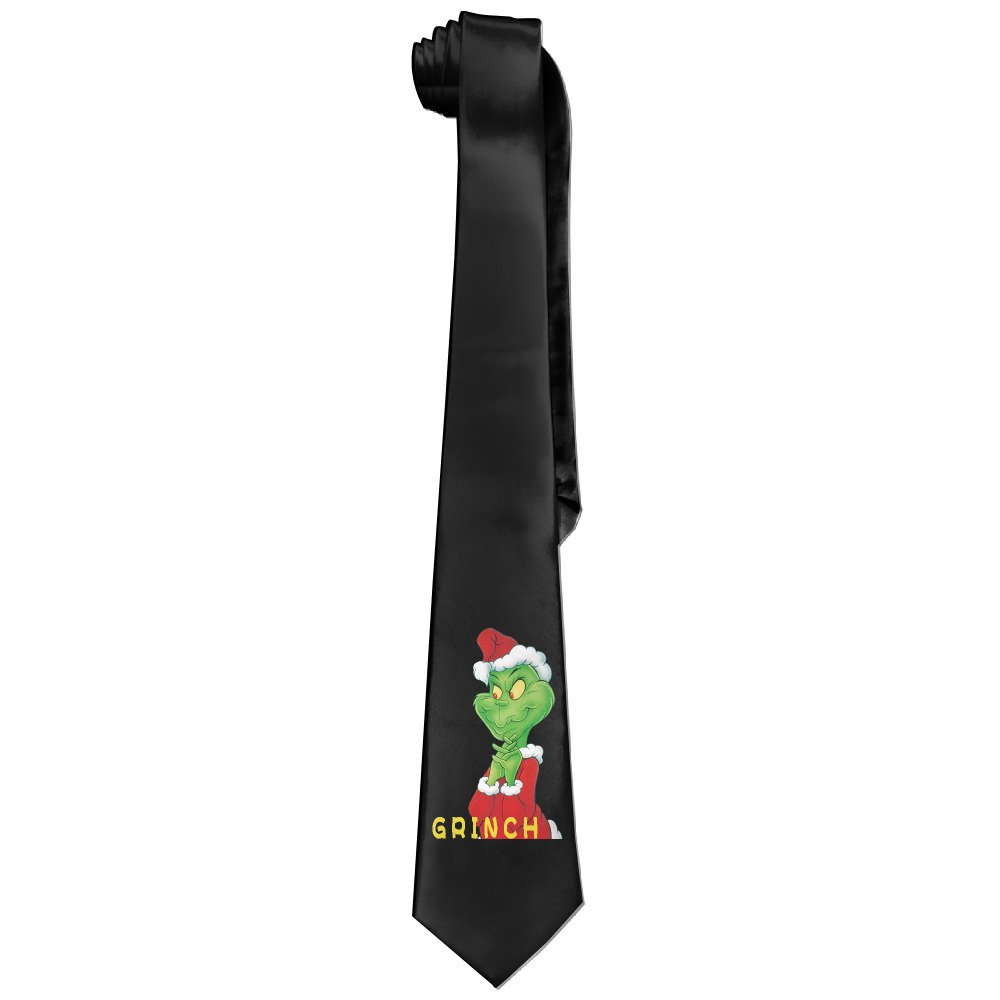 Men's Grinch Necktie Ties Men' s Grinch Necktie Ties