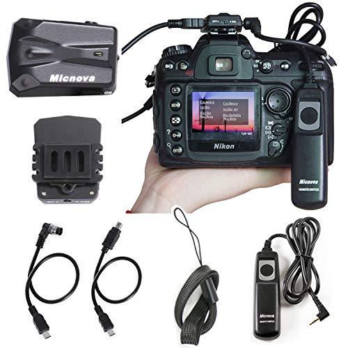 Nikon D7200 GPS Receiver, Micnova GPS-N Plus DSLR Camera GPS Unit Navigation Geotagging for Nikon D800 D3200 D3300 D90 D7100 D5200 D4 D600 D5100 D7000 D300 D300S (Nikon D600 Camera Strap)