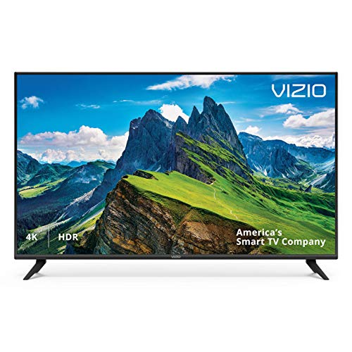 VIZIO 50in Class 4K Ultra HD (2160P) HDR Smart LED TV (D50x-G9 / V505-G9) (Renewed) (55 Vizio Led Tv)