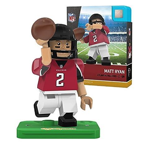 NFL Atlanta Falcons Gen4 Limited Edition Matt Ryan Mini Figure, Small, White - Atlanta Falcons Helmet