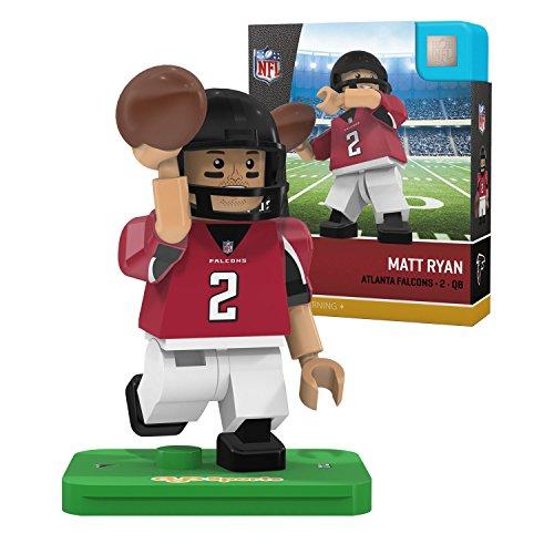 Nfl Atlanta Falcons Gen4 Limited Edition Matt Ryan Mini Figure  Small  White