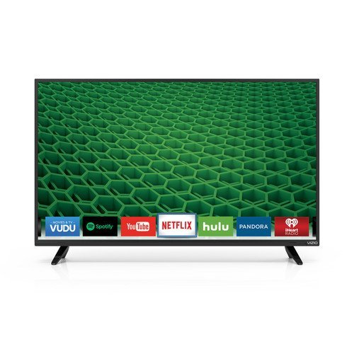 VIZIO D39h-D0 D-Series 39″ Class 720p 120Hz Full Array LED Smart TV (Certified Refurbished)
