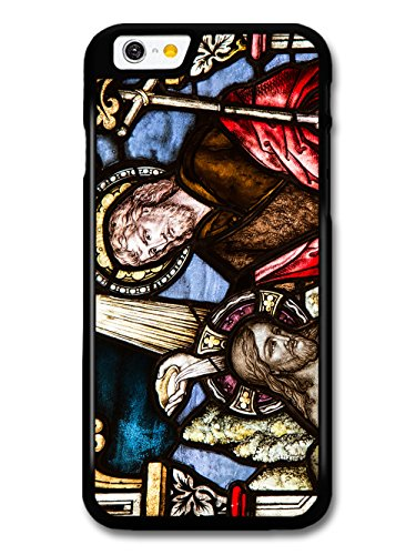 Classic Vintage Stained Glass Windows Cool Goth Christian Jesus case for iPhone 6 6S
