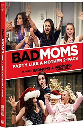 Amazon Com Bad Moms Party Like A Mother 2 Pack Mila Kunis
