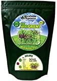 Heirloom Organics NON-GMO Home MicroGreen Seed Pack - 8 Varieties - 200,000+ Non-Hybrid MicroGreen Seeds - Food in as Little as 7 Days