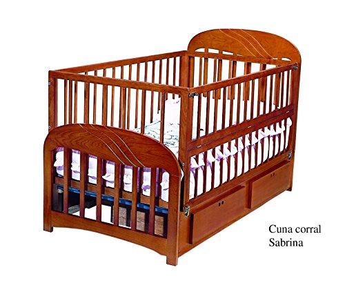 Cuna cama corral Sabrina