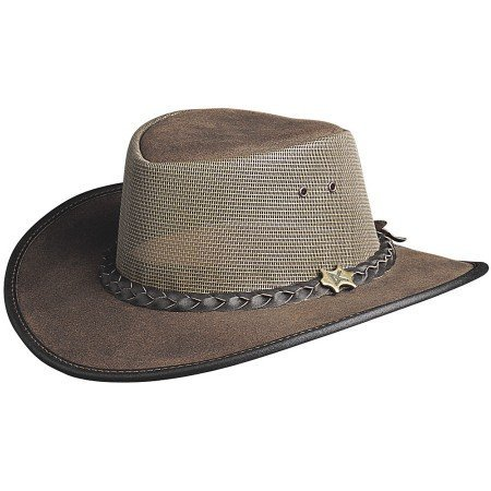 BC Hats Cool as a Breeze Australian Leather ()