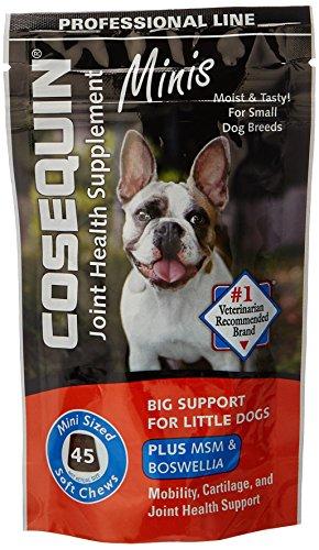 Soft Mini Chews (Nutramax Cosequin Pro DS Plus Joint Health Supplement Mini Chews (45 Count))