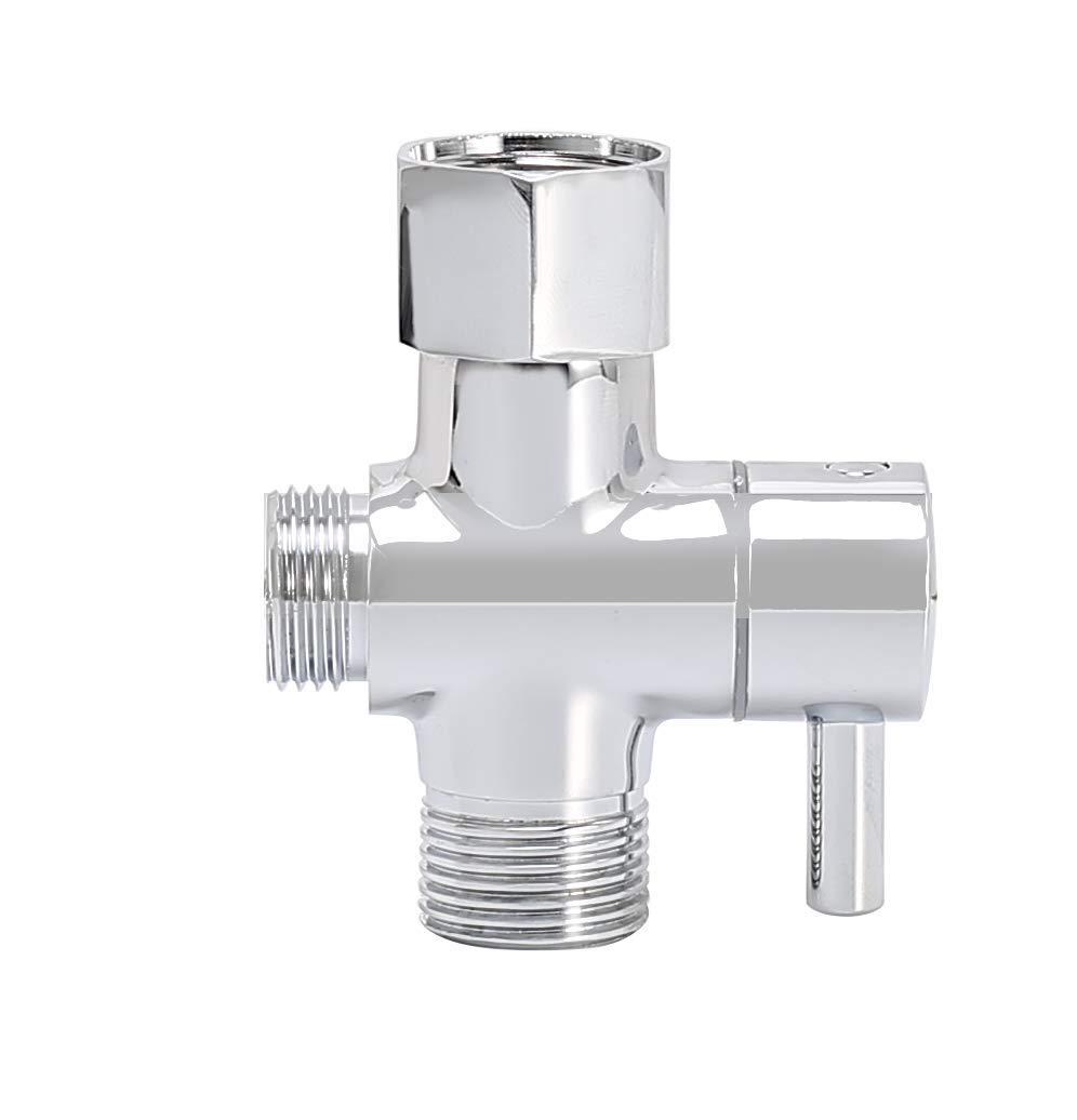 T-Connector, Chrome Purrfectzone Toilet Sprayer