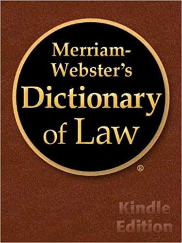 Merriam-websters Dictionary Of Law Pdf