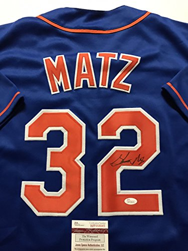 Signed New York Mets Jersey - 7