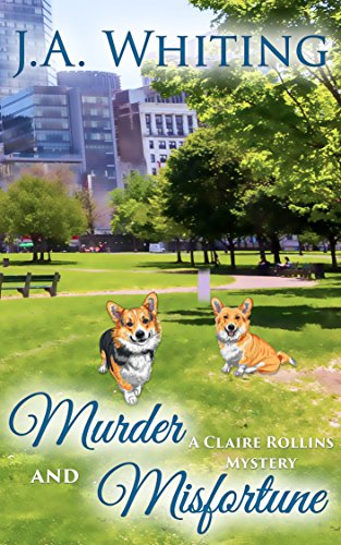 Murder Misfortune Claire Rollins Mystery ebook product image