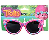 Dreamworks Trolls Poppy Love Fun Time Sunglasses - 100% UVA & UVB Protection (Pink Poppy Fun)