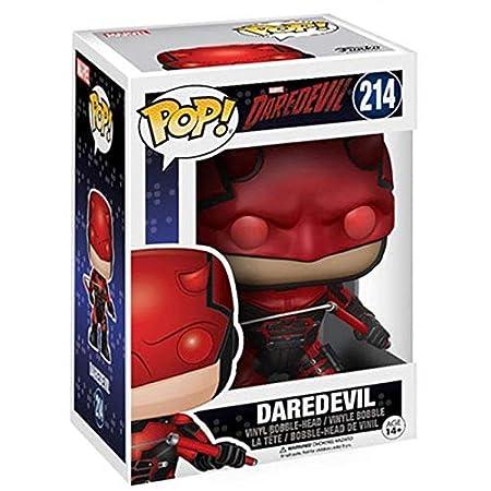WWZL Daredevil Red Batalla Traje Pop Figura en Caja de ...