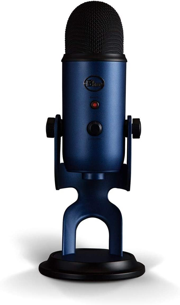 Blue Microphones Yeti Usb Microphone For Recording And Streaming To Pc And Mac Musical Instruments