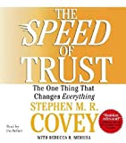 img - for The Speed Of Trust book / textbook / text book