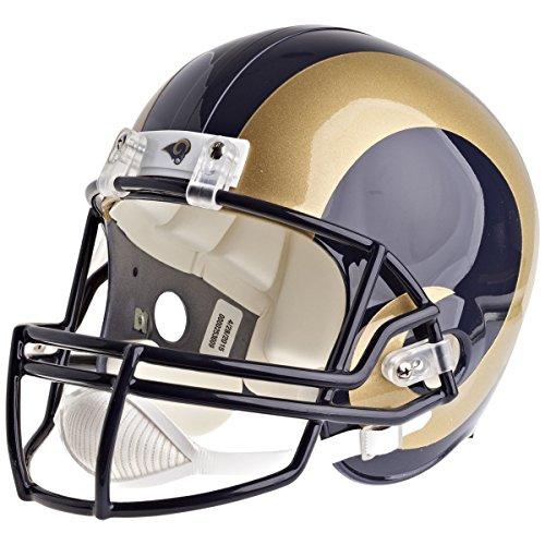 Los Angeles Rams Officially Licensed VSR4 Full Size Replica Football Helmet by Riddell