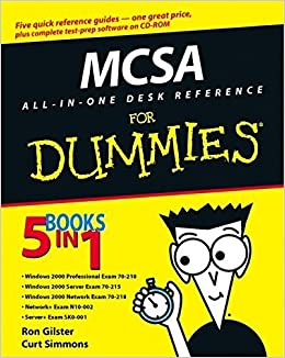 MCSA All-In-One Desk Reference For Dummies For Dummies
