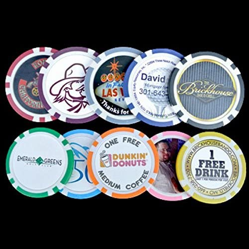 Poker Chip Customizer Refill Pages For Personalized Chips