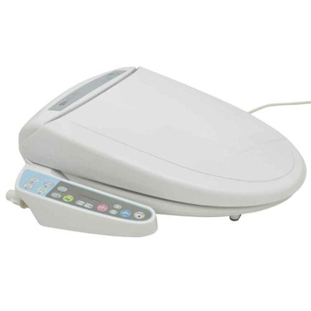 vidaXL Tavoletta Water Bagno Automatica Sensore Sedile WC Bidet Bid/è