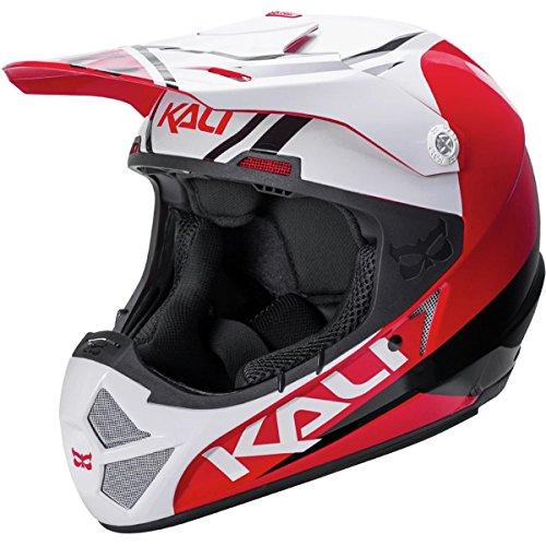 Cheap Kali Protectives Shiva 2.0 Full-Face Helmet Dual Red/Black, S
