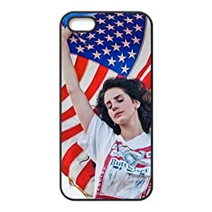 Customiz American Famous Singer Lana Del Rey Back Case for iphone 5 5S JN5S-2484